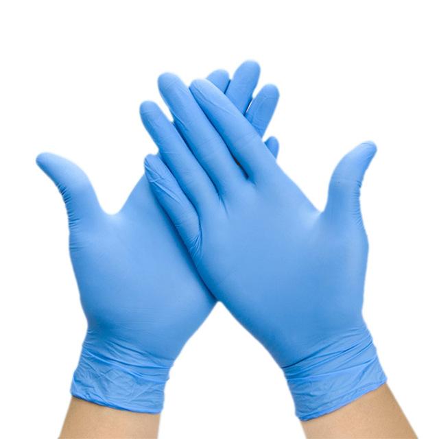 Estel M'use NBM40 Manusi din nitril, M (albastru)