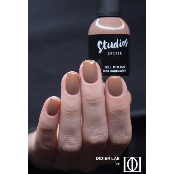 Gel lac semipermanent pentru unghii Didier Lab Studios - Iced cappuccino/Gel Polish Studios, Iced cappuccino, 8 ml