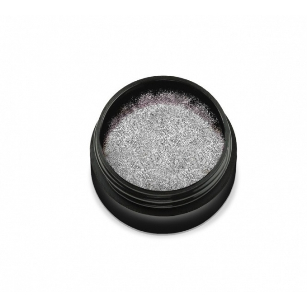 "KTL-001-700 Pudra holografica ""Didier Lab"" silver small particles, 0,6g/Holographic powder ""Didier L"