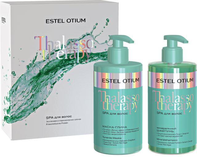 Estel Otium THALASSO THERAPY Set pentru ritualul SPA (masca,sampon 435 ml)