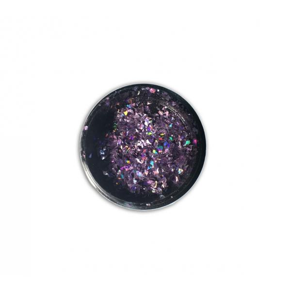 "96813CSclipici fulgi de gheata ""Didier Lab"",purple 0,6g/Cut mirror flakes ""Didier Lab"",purple"