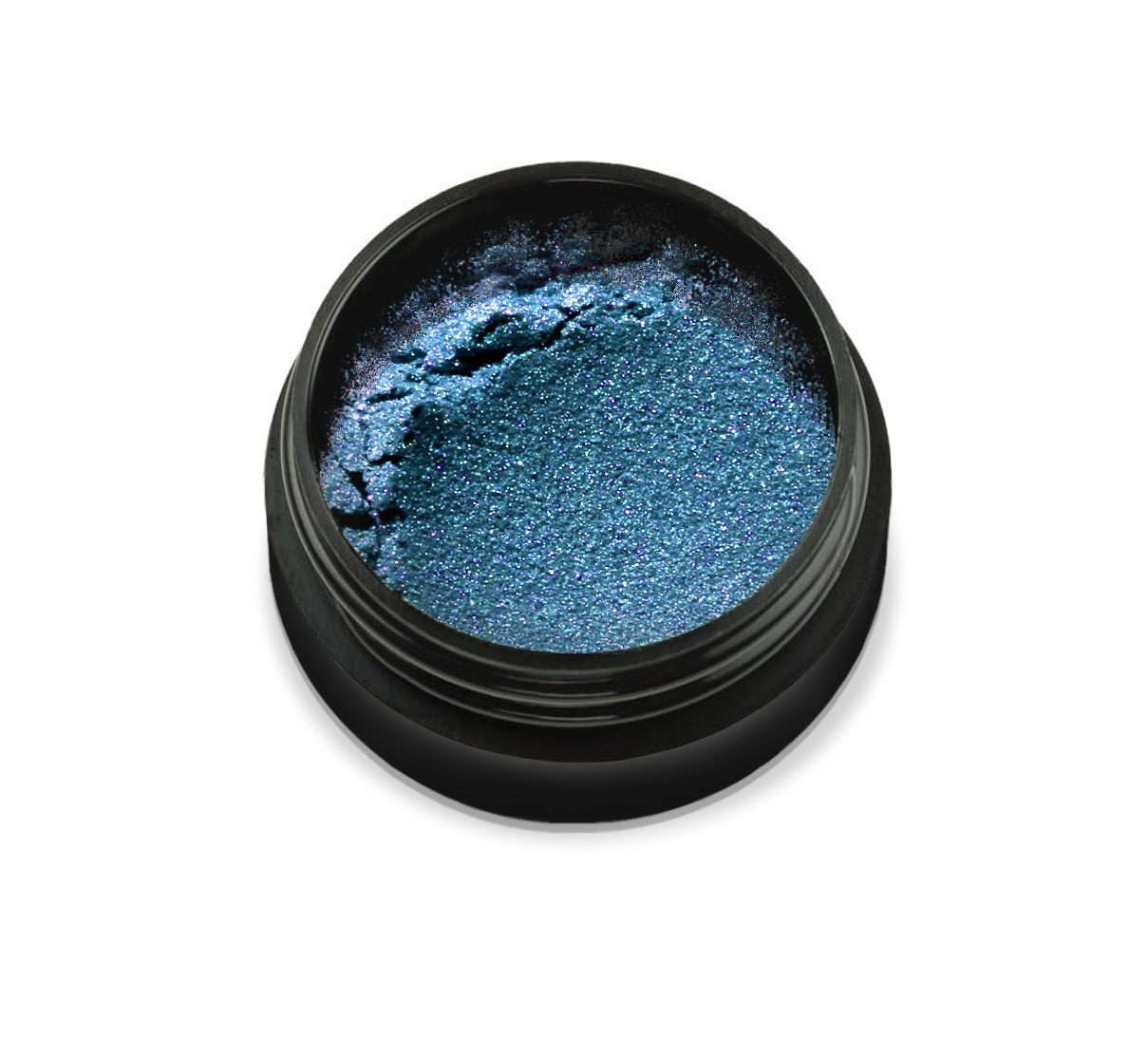 "6040 Pudra cu pigmenti 'Didier Lab"", ocean blue 2,5g/Pigment powder 'Didier Lab"", ocean blue"