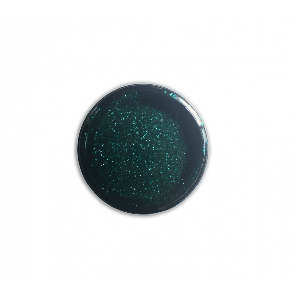 """96501Sclipici pentru unghii """"Didier Lab"""", smaragde green 2,5g/Nail glitter """"Didier Lab"""", smaragde gr"""