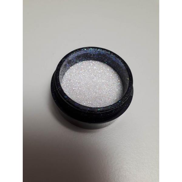 """92007Sclipici pentru unghii """"Didier Lab"""", white mirror 2,5g/Nail glitter """"Didier Lab"""", white mirror"""