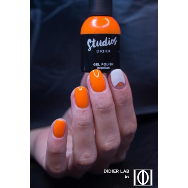 Gel lac semipermanent pentru unghii Didier Lab Studios - Brazilian/Gel Polish Studios - Brazilian , 8 ml