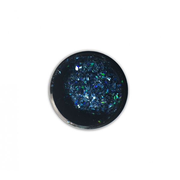 "96812ASclipici fulgi de gheata ""Didier Lab"",cobalt blue 0,6g/Cut mirror flakes ""Didier Lab"", cobalt"