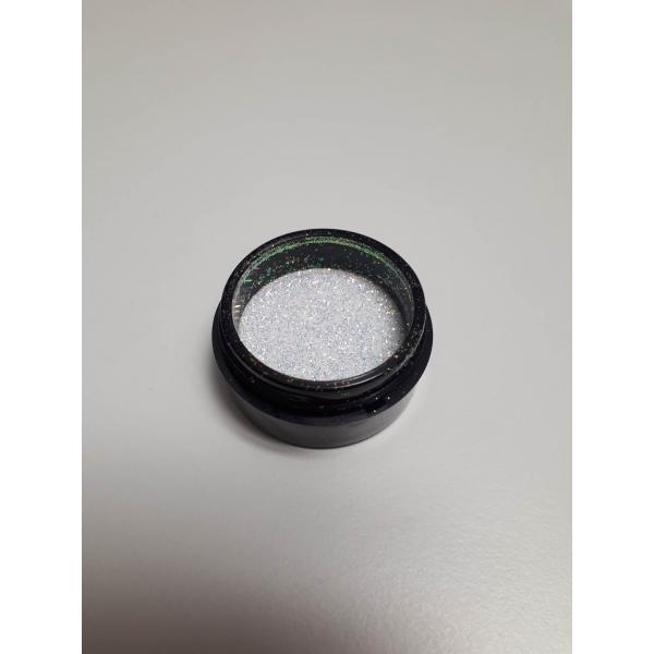 "92008Sclipici pentru unghii ""Didier Lab"", white dust 2,5g/Nail glitter ""Didier Lab"", white dust"