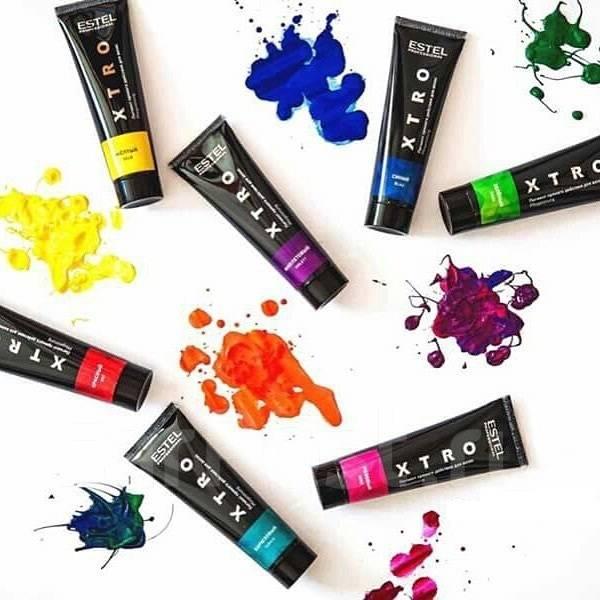 XTRO Pigment cu actiune directa pt par Albastru 60 ml