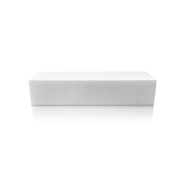 Pila unghii, alba, 100/100/Nail Buffer, white 100/100