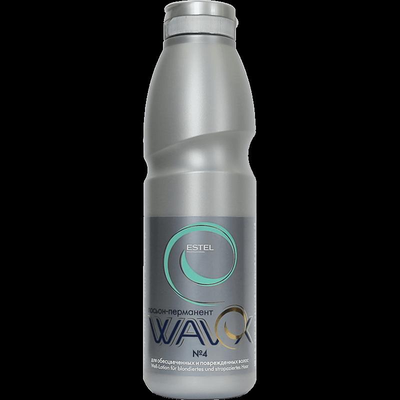 Estel Wavex Loţiune-permanent nr.4 pentru părul DECOLORAT ȘI DETERIORAT  500 ml