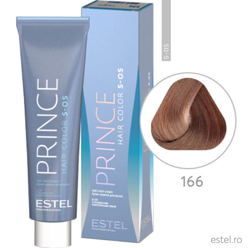 Prince S-OS Vopsea permanenta pentru par 166 Super blond violet intens 100 ml