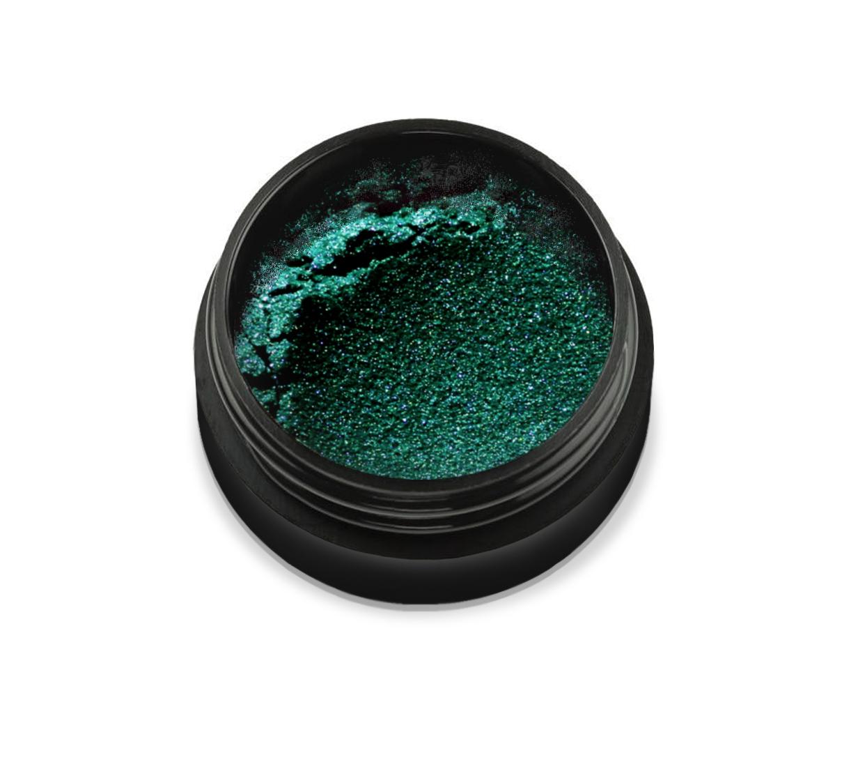 """6055 Pudra cu pigmenti 'Didier Lab"""", blakish green 2,5g/Pigment powder 'Didier Lab"""", blakish green"""