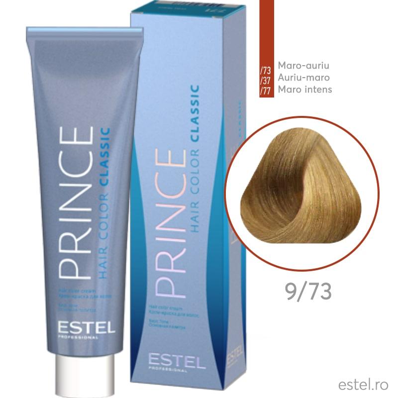 Prince Vopsea permanenta pentru par 9/73 Blond maro-auriu 100 ml