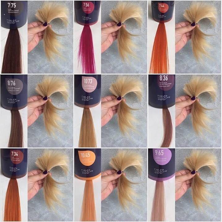 Masca nuantatoare  pentru păr Haute Couture NewTone 10/76 Blond deschis maro-violet 435 ml
