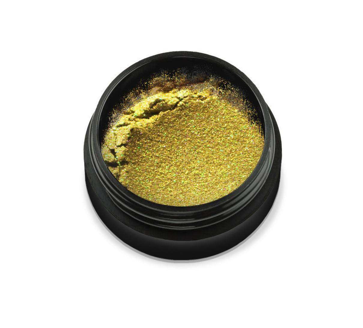 "6111 Pudra cu pigmenti 'Didier Lab"", flash yellow 2,5g/Pigment powder 'Didier Lab"", flash yellow"