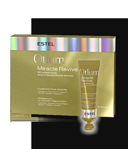 """Estel Otium Miracle Revive Ser-voal pentru par """"Refacere instanta"""" 5*23 ml"""