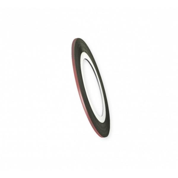 "Modele pentru unghii ""Didier Lab"", 2mm, bronze/Nail art tape ""Didier Lab"", 2mm, bronze"