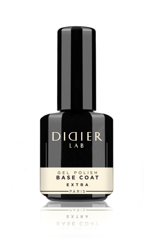 "Gel lustruire - Strat de baza extra ""Didier Lab""/Gel Polish Base Coat Extra 'Didier Lab"" 15ml"