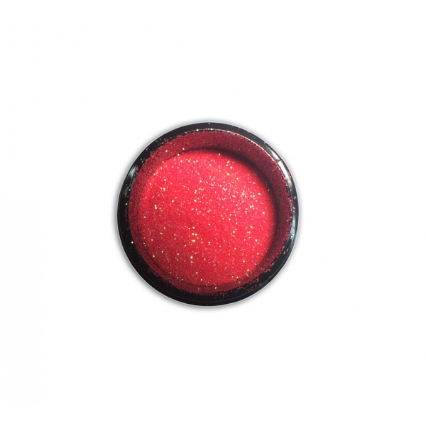 "98208Sclipici pentru unghii ""Didier Lab"", pink red 2,5g/Nail glitter  ""Didier Lab"", pink red"