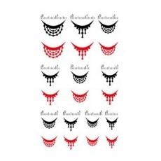 """Tatuaje pentru cuticulele unghiilor """"Didier Lab"""", bead dangles/Nail cuticle tattoos, bead  dangles"""