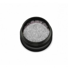 """KTL-001-700 Pudra holografica """"Didier Lab"""" silver small particles, 0,6g/Holographic powder """"Didier L"""