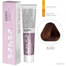 Vopsea semipermanenta de par De Luxe Sense 6/43 Blond inchis aramiu-auriu 60 ml