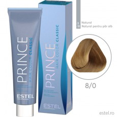 Prince Vopsea permanenta pentru par 8/0 Blond deschis 100 ml