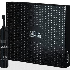 ESTEL Alpha Homme Vopsea pentru par blond deschis Alpha Homme 8/0 10 ml