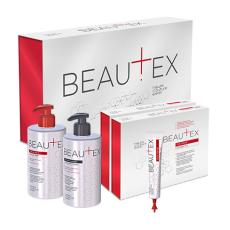 Kit pt procedura Beautex Care pentru indreptare si stralucire pentru par (Sampon 435 ml, Masca 435 ml, Elixir 10*25ml)