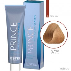 Prince Vopsea permanenta pentru par 9/75 Blond maro-rosu 100 ml