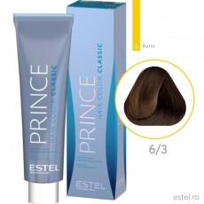 Prince Vopsea permanenta pentru par 6/3 Blond inchis auriu 100 ml