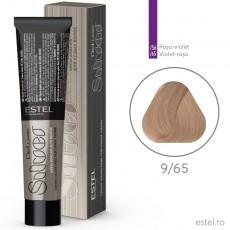 Vopsea permanenta de par De Luxe SILVER 9/65 Blond mov-rosu 60 ml