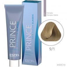 Prince Vopsea permanenta pentru par 9/1 Blond cenusiu 100 ml