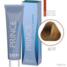 Prince Vopsea permanenta pentru par 8/37 Blond deschis auriu-maro 100 ml
