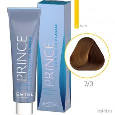 Prince Vopsea permanenta pentru par 7/3 Blond mediu auriu 100 ml