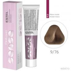 Vopsea semipermanenta de par De Luxe Sense 9/76 Blond deschis maroniu-violet 60 ml