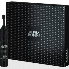 ESTEL Alpha Homme Vopsea pentru par saten Alpha Homme 1/0  5*10 ml