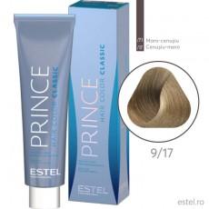 Prince Vopsea permanenta pentru par 9/17 Blond cenusiu-maro 100 ml