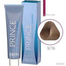 Prince Vopsea permanenta pentru par 9/76 Blond maro-violet 100 ml