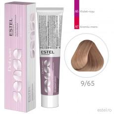 Vopsea semipermanenta de par De Luxe Sense 9/65 Blond deschis mov-rosu 60 ml
