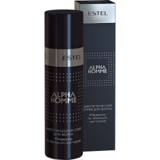 ALPHA HOMME Spray energetic pentru par 100 ml